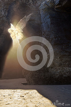 Free Appearance Of An Angel Stock Photo - 44403980