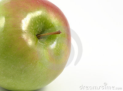 Appearing green apple