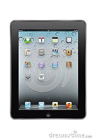 Appel iPad Redactionele Fotografie
