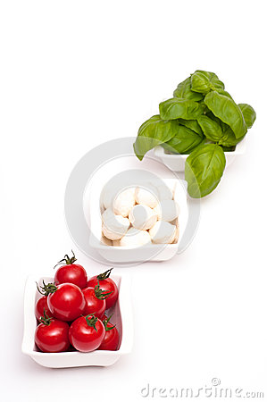 Free Appetizer Insalata Caprese Stock Photo - 26379330