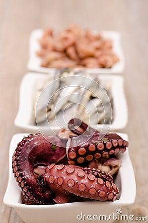 Appetizer octopus
