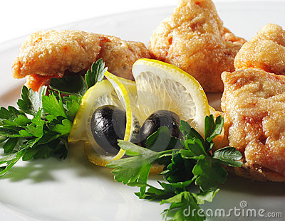 Appetizers - Deep-Fried Shrimp