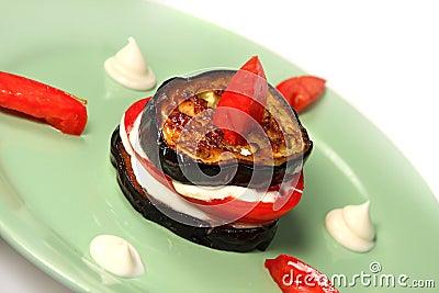 Appetizing aubergine
