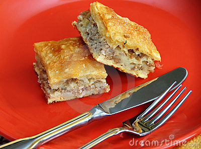 Appetizing homemade pie