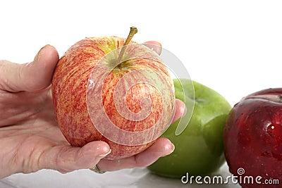 Apple在手中