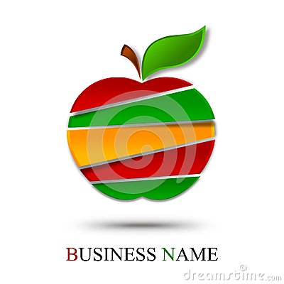 Apple abstract logo