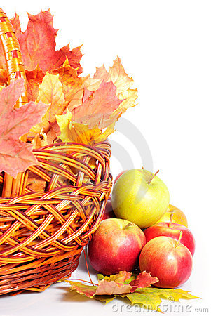 Free Apple And Basket Stock Photos - 16597483