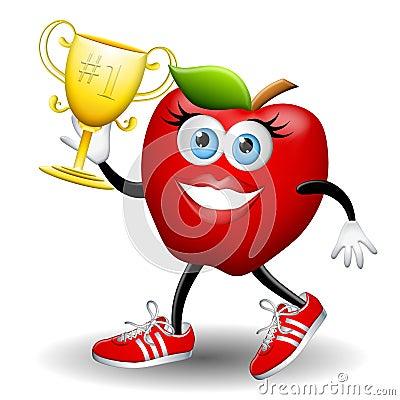 Apple Annie Wins The Race