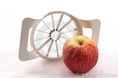 Apple and Apple Slicer