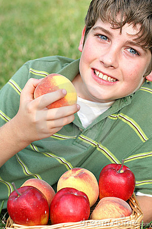 Free Apple Arms Background Boy Chil Stock Photos - 2160713