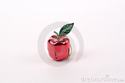 Apple Bell Tree Ornament