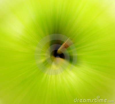 Apple blur
