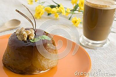 Apple cake & coffee