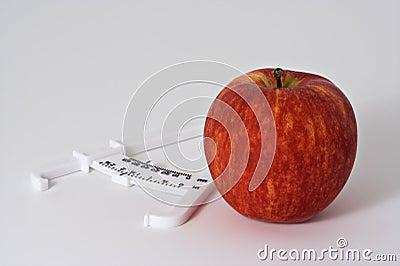 Apple and Caliper 2