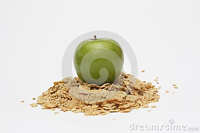 Apple and cereals