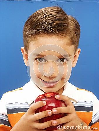 Apple child.