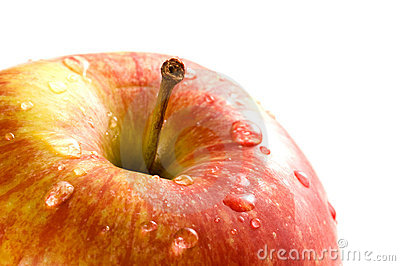 Apple close-up