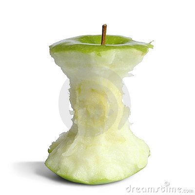 Free Apple Core Stock Photography - 250432