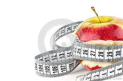 Apple core with meter