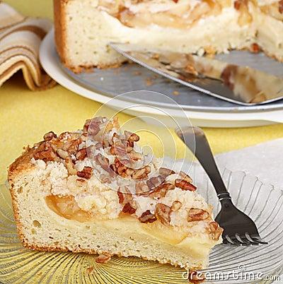 Apple Cream Cheese Coffee Cake