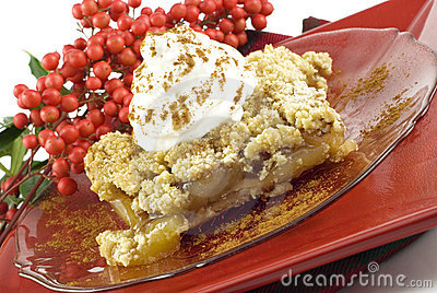 Apple Crumb Topped Pie