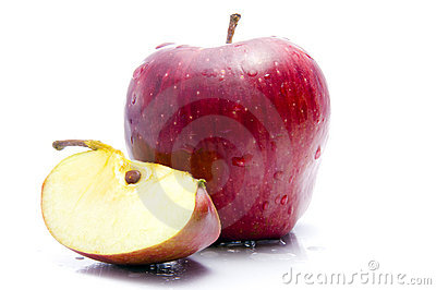 Apple With Cut