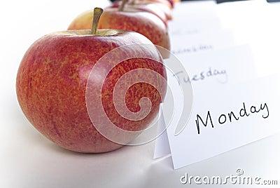 An Apple a Day Close Up