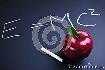 Apple and Einstein formula