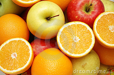Apple et oranges