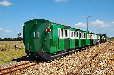 Apple Express train