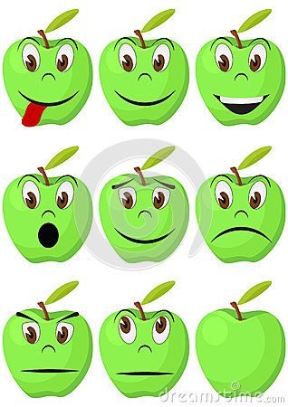 Apple face