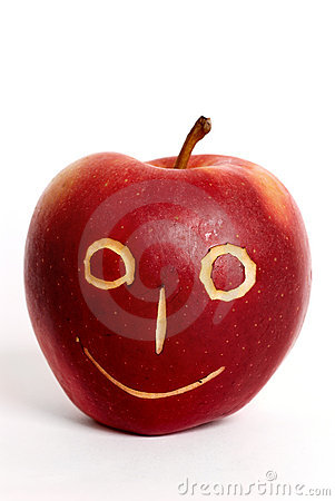 Apple-face