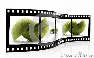 Apple Film Strip