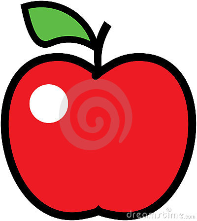 Apple -  illustration.