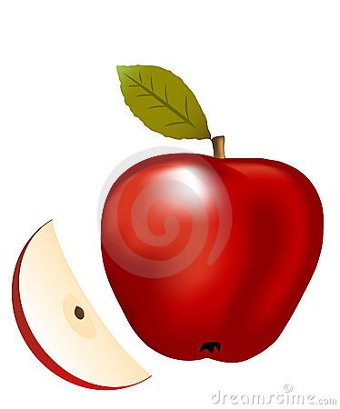 Apple Illustration Royalty Free Stock Photo - Image: 5617395