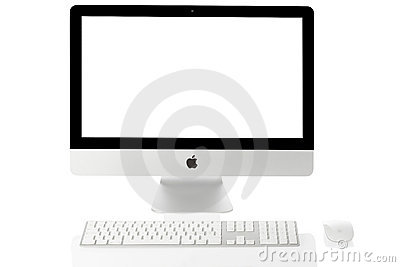 Apple iMac 21 Editorial Stock Image