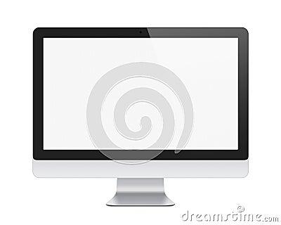 Apple imac display isolated