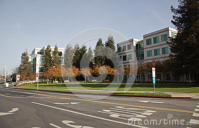 Apple Inc Headquarters Editorial Stock Image
