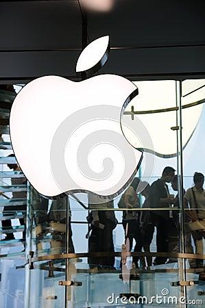 Apple Inc logo Editorial Photo