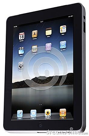 Apple iPad Editorial Stock Photo