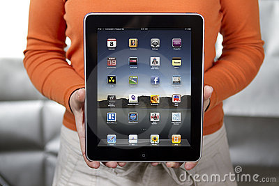 Apple iPad 3 Editorial Stock Image