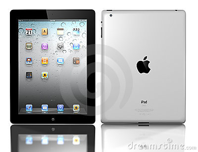 Apple iPad 3 Editorial Stock Photo