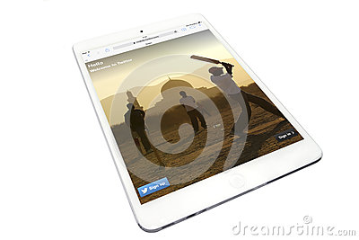 Apple ipad Editorial Stock Image