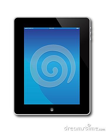 Apple Ipad Computer Screen Editorial Photography
