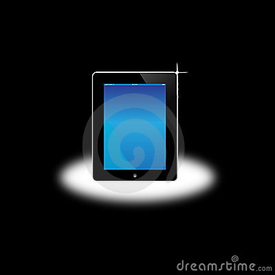 Apple Ipad Computer Screen Editorial Image