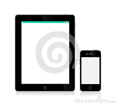 APPLE IPAD IPHONE Editorial Stock Image