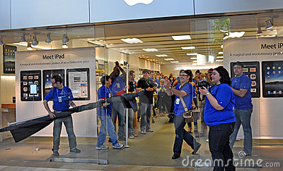 Apple Ipad Launch Editorial Photography