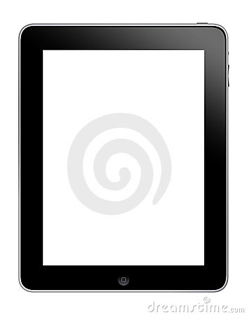Apple Ipad tablet Editorial Stock Photo