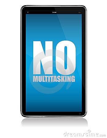 Apple iPad tablet no multitasking Editorial Photography
