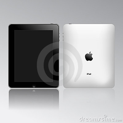 Apple ipad touch tablet pc Editorial Image